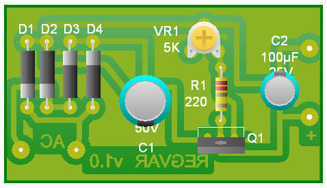 Fuente variable LM317