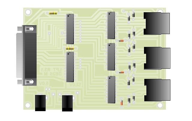 Tarjeta de Control CNC Unipolar
