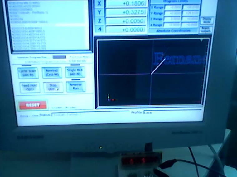 Configuracion Cortador Laser EMC2 y Mach3