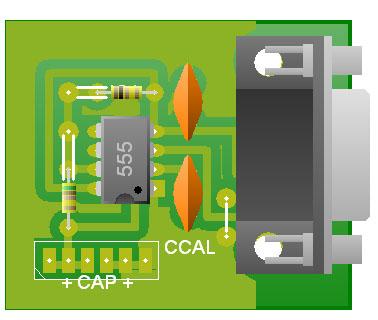 Medidor de Capacitancia DB9