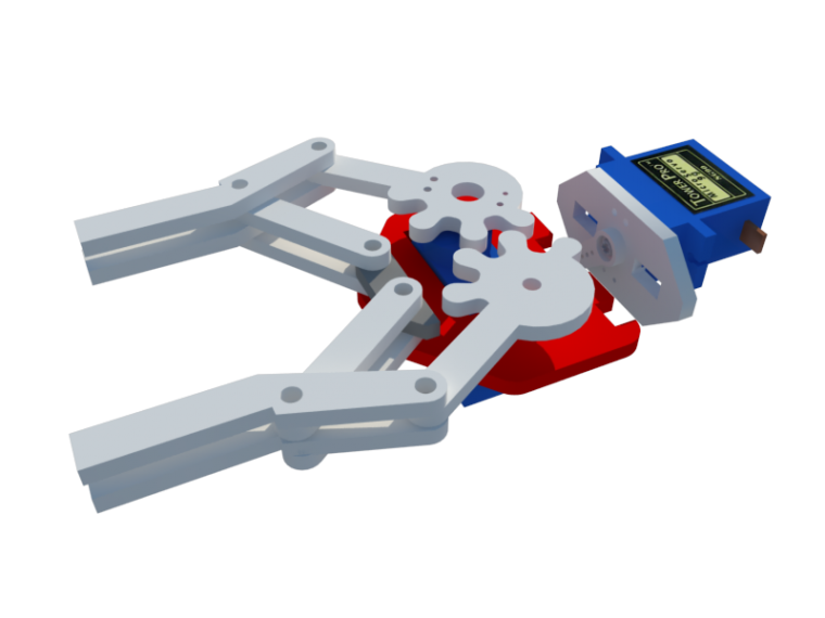 Gripper y brazo robot