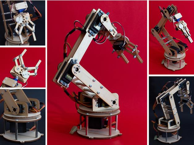 haz tu brazo robot